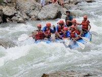 bajando por el rio