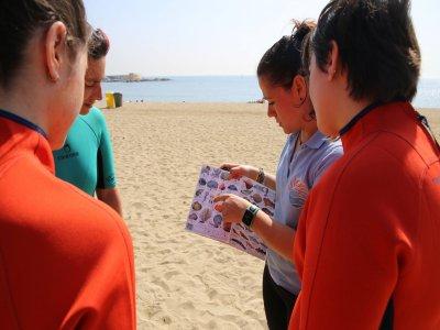 Campamento de ciencia ambiental en Sitges 15 días