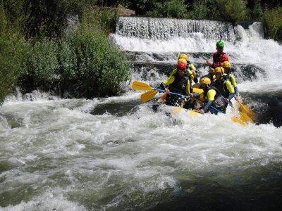 Rafting en Las Presas río Iregua grado III adultos