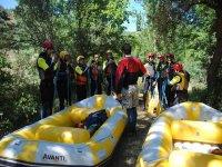 Rafting en Iregua tramo familiar grado III adultos