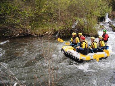 Rafting familiar en el valle de Cidacos adultos