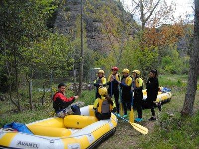 Rafting en Las Presas río Iregua precio niños