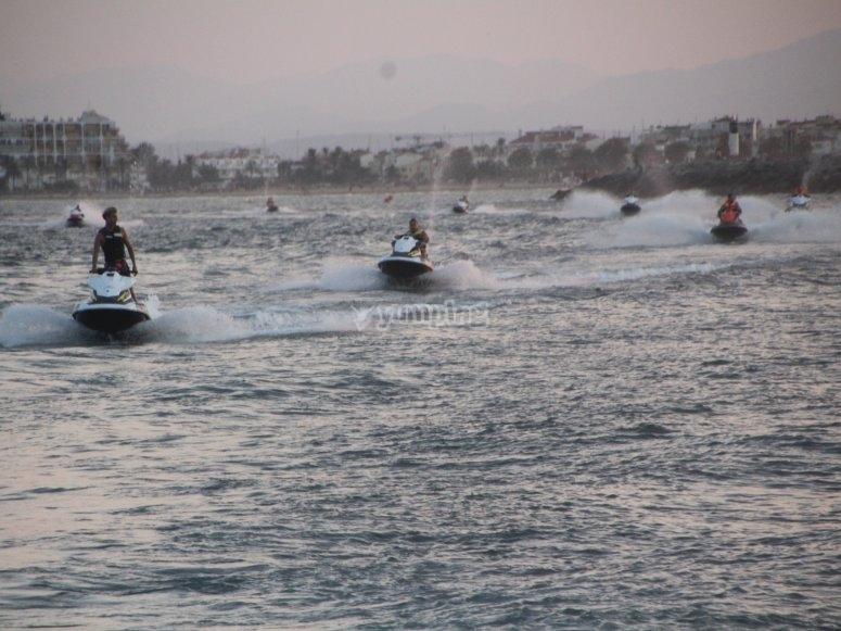 水上摩托艇游览