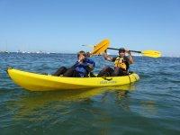 海上双人皮划艇