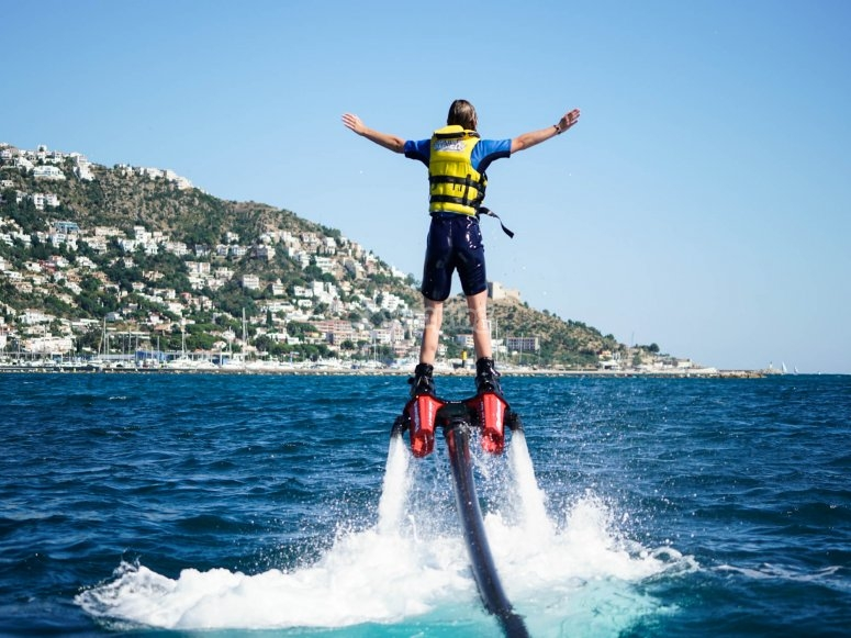 Flyboard上的飞行