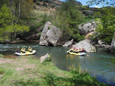 Rafting en Najerilla tramo clásico precio niños