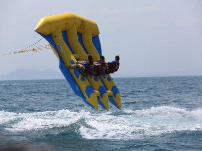 一包飞鱼和喷气滑雪在巴塞罗那40分钟