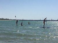 划桨冲浪之旅