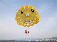 Parasailing & Flyfish Pack in Barcelona, 30m