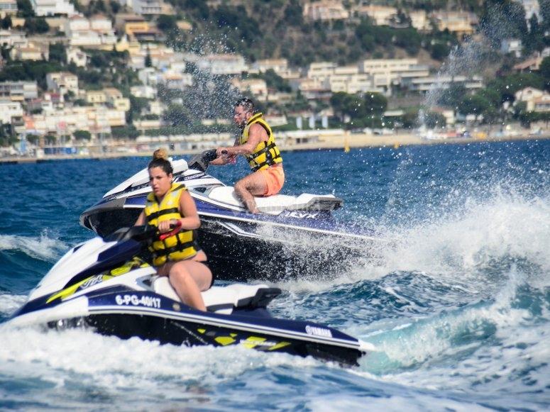 Amigos jet ski