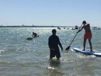 桨冲浪之旅开始