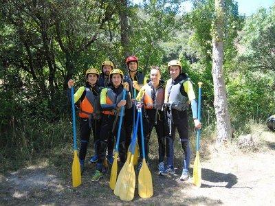 Rafting en río Iregua tramo familiar tarifa niños