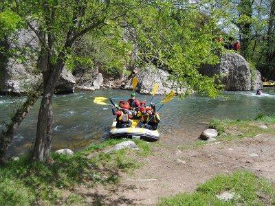 Rafting especial familias en Najerilla tarifa niño