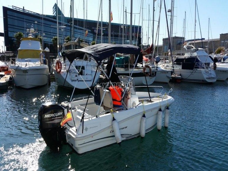 Salida20 desde el puerto de Vigo