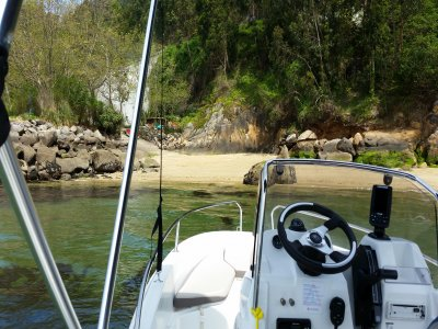 Boat Rental in Cíes Islands, Full Day