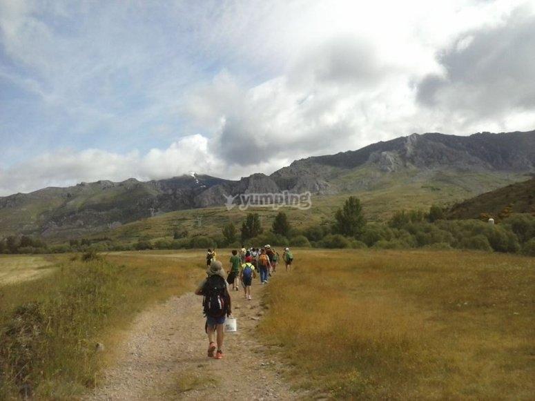 Escursione escursionistica