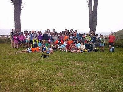 Campamento multiaventura en Soncillo 10 días julio