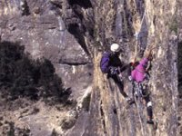 Climbing places like the Mallos de Riglos