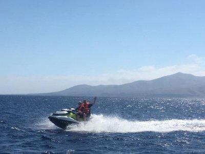 Giro in moto d'acqua per le spiagge di Papagayo 1 ora