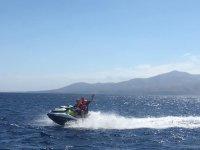 Diversión a bordo de moto de agua