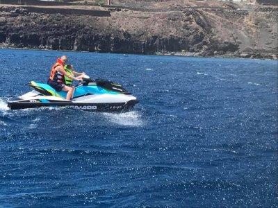 Percorso di jet ski attraverso la storica Reef 2 h