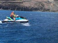 加那利群岛的摩托艇