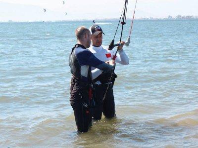 Bodydrag Kitesurf Course in Sant Carles Ràpita