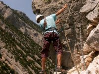 Via ferrata through the Pyrenees