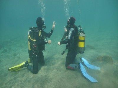 Curso PADI Scuba Diver en el Médano