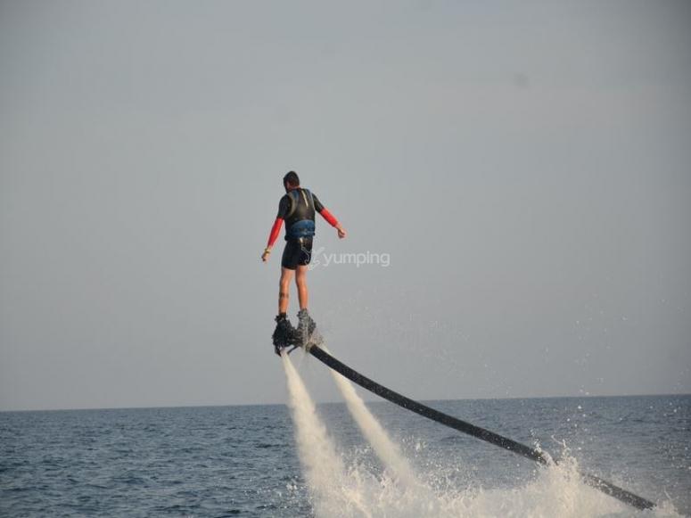 兰萨罗特岛的Flyboard