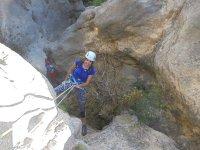 Dry Canyoning La Rubia Ravine, Medium Level