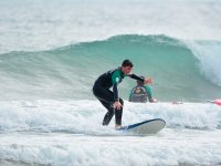 Learning to surf in Cantabria