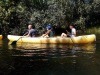 Canoas candienses en Zamora