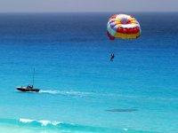 Sesión de parascending en Puerto Banús 20 minutos