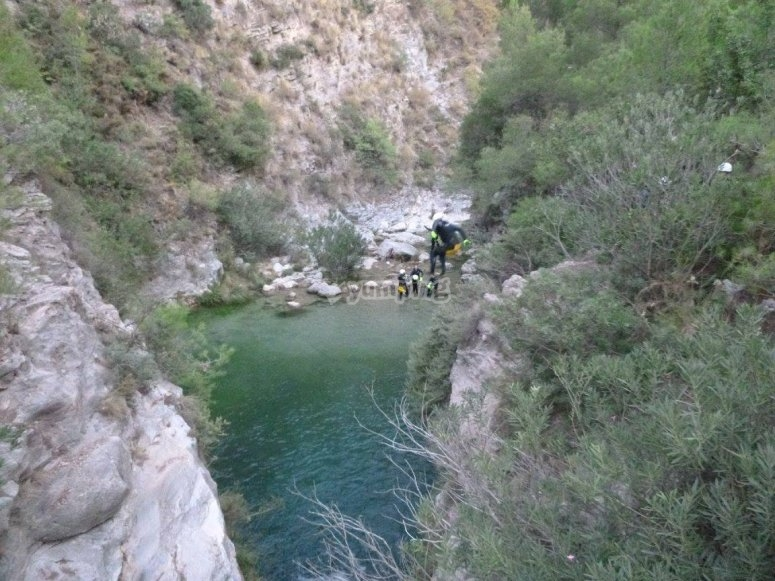 Canyoning Cadiz