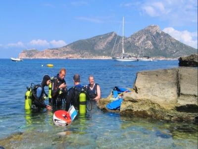 Curso PADI Scuba Diver en San Telmo