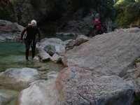 Crossings through the ravines of Guara
