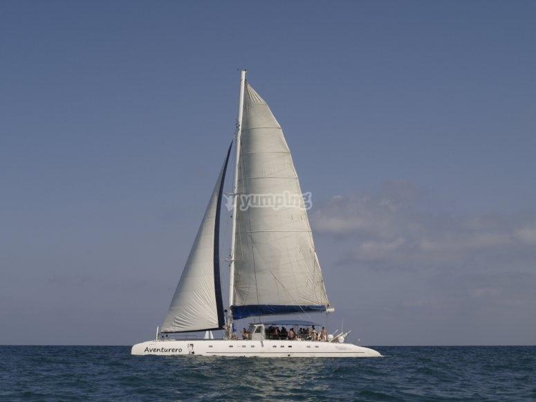 Maxi catamaran Alicante