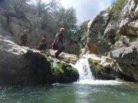 Saltos del barranco