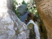 Barranquismo acuático en Teruel