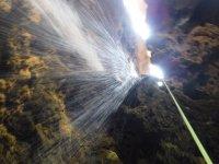 Espectacular cascada en el barranco