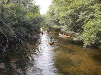 Descenso del río Tera en canoa