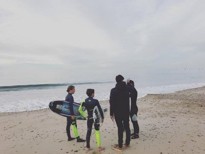 Surf Course in Gijon: Monday - Friday, 10 Hours
