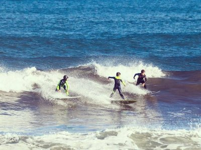 Surfing Course Gijón Beach, Weekend, 4 Hours