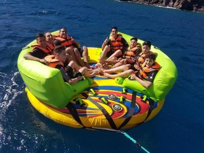 Donuts boat en Lanzarote durante 15 minutos