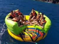 Ciambelle in barca a Lanzarote per 15 minuti