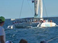 Catamaran on the Costa Blanca