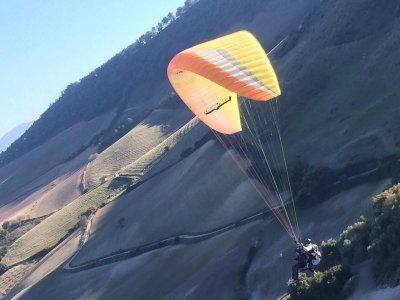 Tandem Paraglide Flight in Matalascañas 45 min