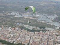 Volo in parapendio in tandem a La Muela e video 15 min