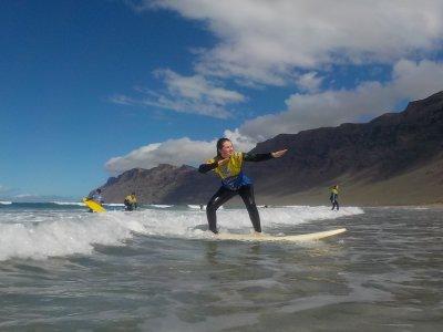 Surf Camp a Lanzarote Famara beach 5 giorni